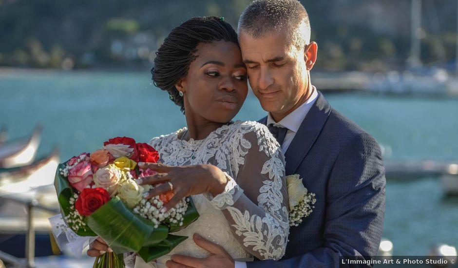 Il matrimonio di Marco e Susan a Portovenere, La Spezia