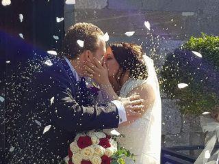 Le nozze di Erika e Cristiano