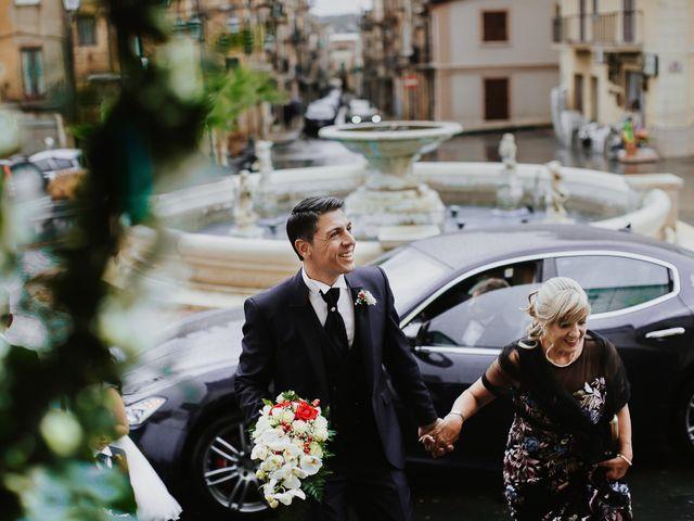 Il matrimonio di Romina e Cosimo a Barrafranca, Enna 24