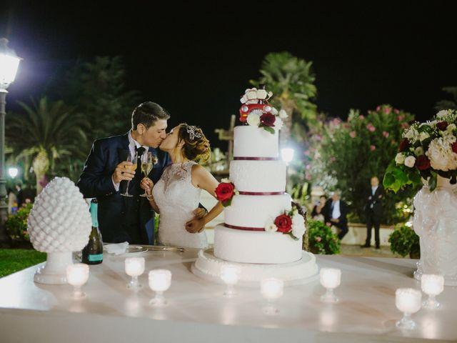 Il matrimonio di Romina e Cosimo a Barrafranca, Enna 75