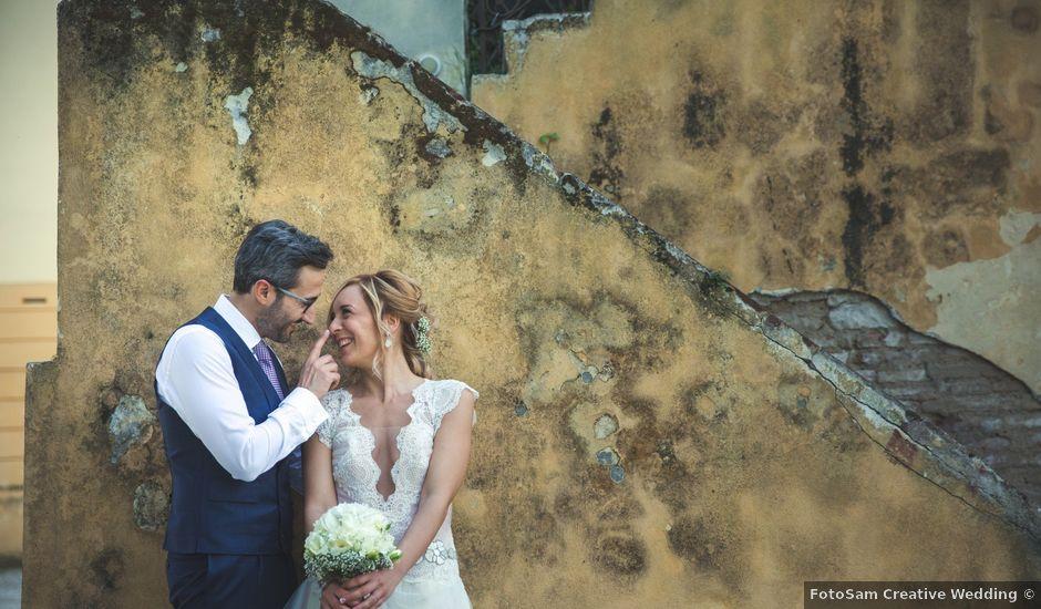 Il matrimonio di Davide e Marilena a Serra San Quirico, Ancona
