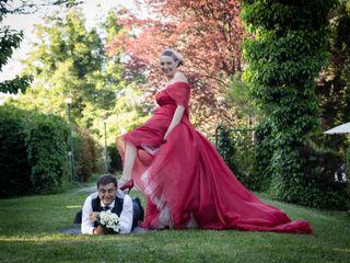 Le nozze di Alberto e Dominique