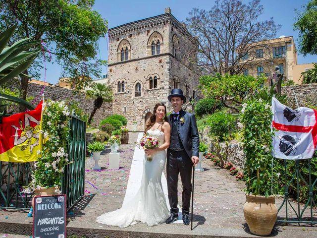 Il matrimonio di Manuela e Simone a Taormina, Messina 14