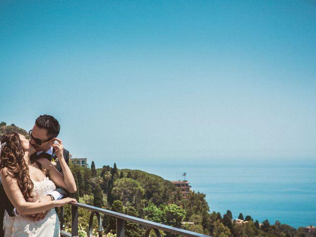 Il matrimonio di Manuela e Simone a Taormina, Messina 17
