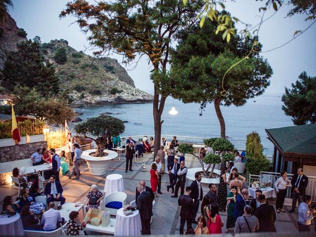 Il matrimonio di Manuela e Simone a Taormina, Messina 33