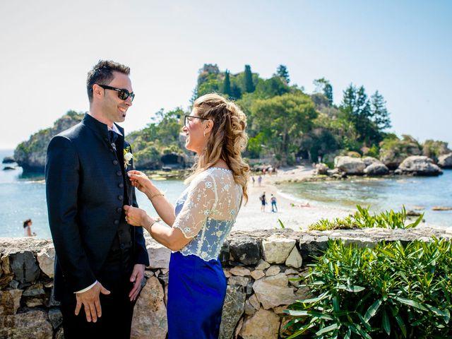 Il matrimonio di Manuela e Simone a Taormina, Messina 35