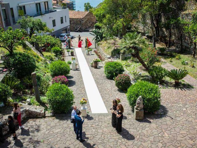 Il matrimonio di Manuela e Simone a Taormina, Messina 38