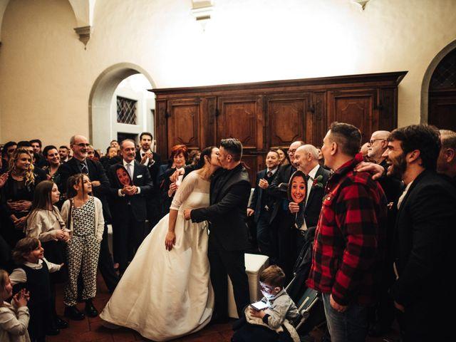 Il matrimonio di Gianni e Adele a San Miniato, Pisa 63