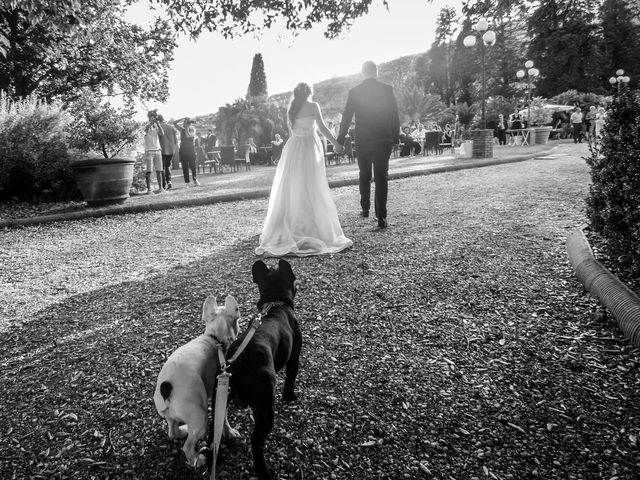 Le nozze di Alessia e Adam
