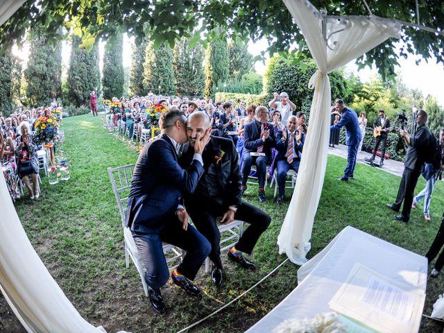 Il matrimonio di Marco e Aurelio a Castel Gandolfo, Roma 21