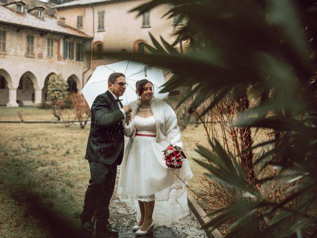 Il matrimonio di Gianluca e Giulia a Novara, Novara 48