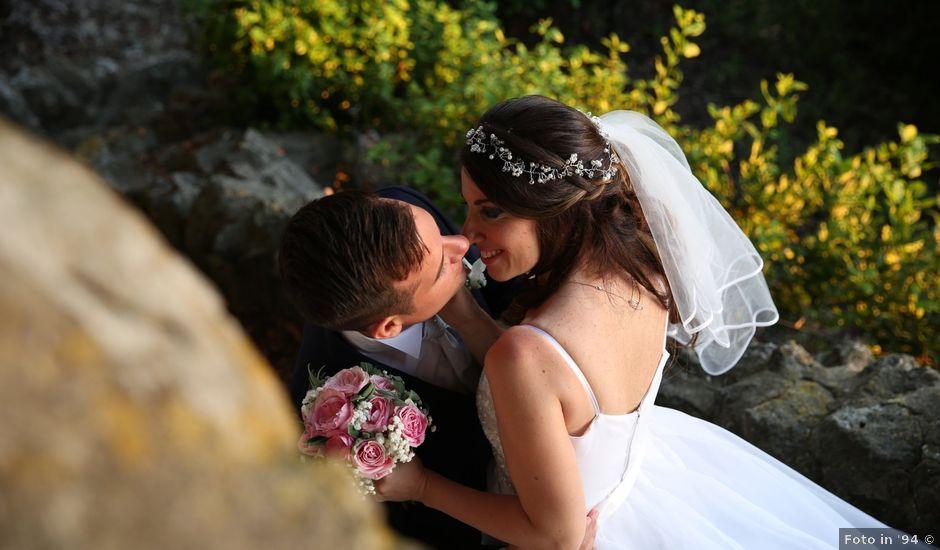 Il matrimonio di Giordano e Sara a Albano Laziale, Roma