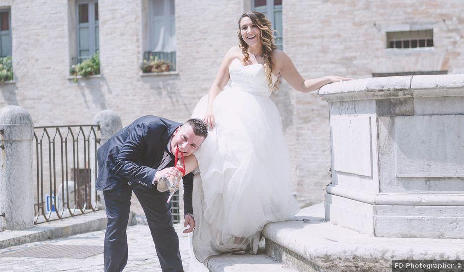 Il matrimonio di Alan e Veronica a Fossombrone, Pesaro - Urbino