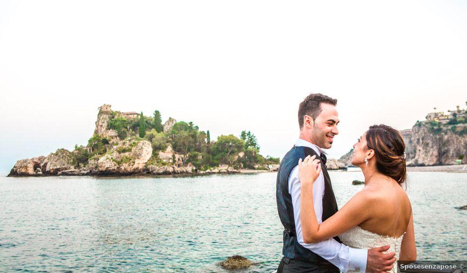 Il matrimonio di Manuela e Simone a Taormina, Messina