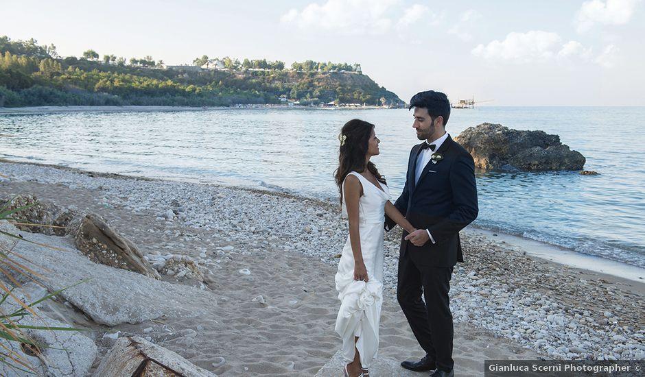 Il matrimonio di Sergio e Maria a Vasto, Chieti