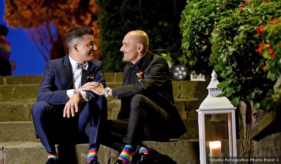 Il matrimonio di Marco e Aurelio a Castel Gandolfo, Roma