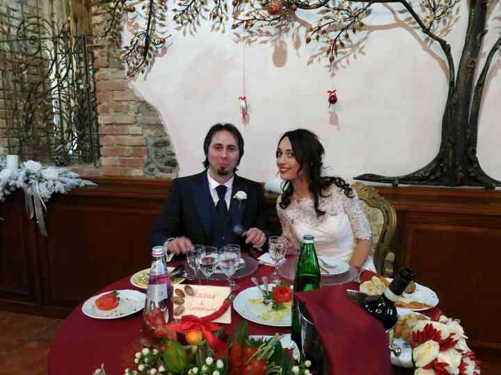 le nozze di Francesca Romana e Vincenzo