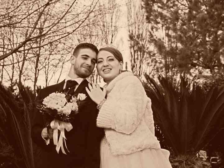 le nozze di Maria Pia e Nicola
