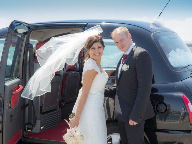 le nozze di Pamela e Jason