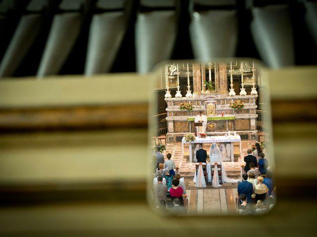 Il matrimonio di Valentina e Andrea a Brembio, Lodi 1