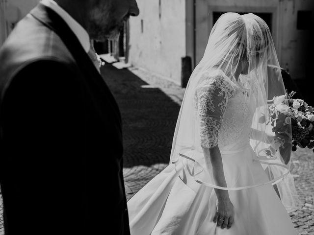 Il matrimonio di Veronica e Mauro a Bassano Romano, Viterbo 24