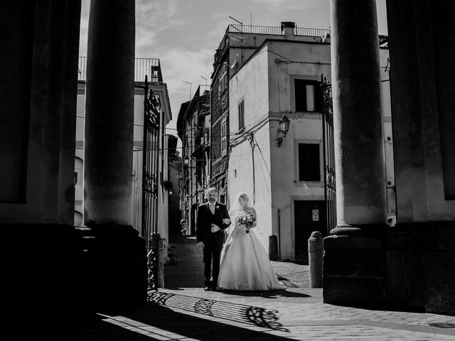 Il matrimonio di Veronica e Mauro a Bassano Romano, Viterbo 26