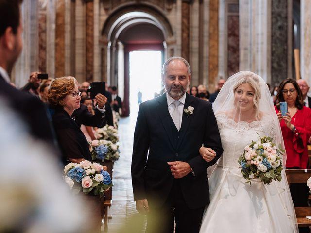 Il matrimonio di Veronica e Mauro a Bassano Romano, Viterbo 31