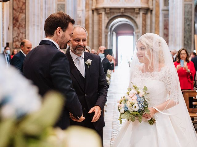 Il matrimonio di Veronica e Mauro a Bassano Romano, Viterbo 32