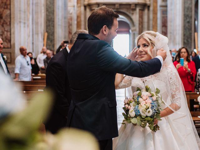 Il matrimonio di Veronica e Mauro a Bassano Romano, Viterbo 33