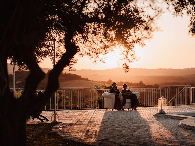 Il matrimonio di Veronica e Mauro a Bassano Romano, Viterbo 76