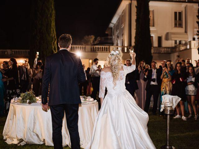 Il matrimonio di Veronica e Mauro a Bassano Romano, Viterbo 98