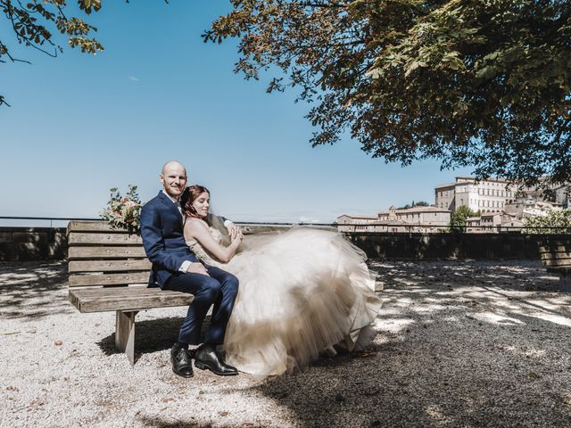 Il matrimonio di Monica e Michele a Todi, Perugia 2