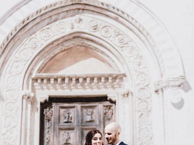 Il matrimonio di Monica e Michele a Todi, Perugia 11