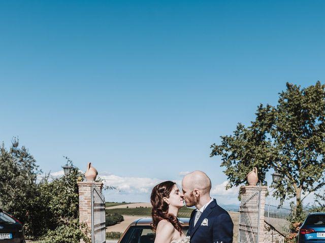 Il matrimonio di Monica e Michele a Todi, Perugia 19