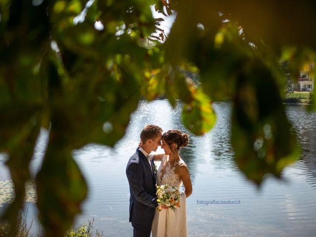 Il matrimonio di Davide e Francesca a Villa Lagarina, Trento 1