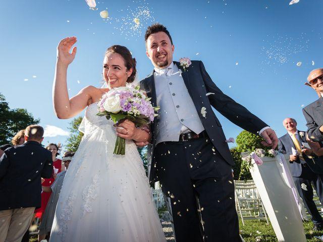 le nozze di Laura e Carlo