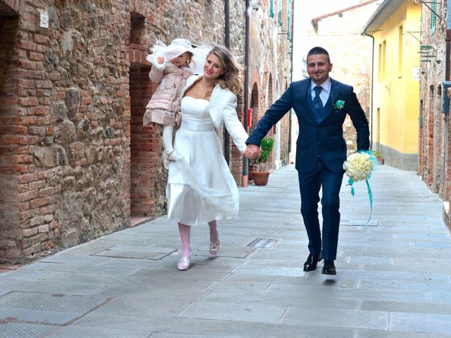 Il matrimonio di Fabio e Irina a Campagnatico, Grosseto 5
