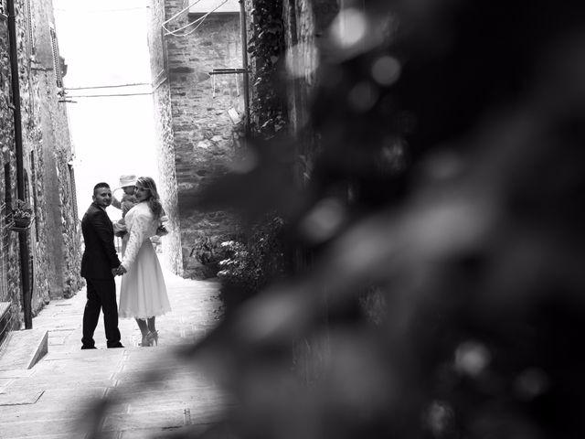 Il matrimonio di Fabio e Irina a Campagnatico, Grosseto 9