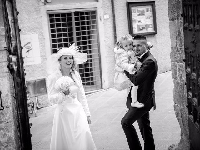 Il matrimonio di Fabio e Irina a Campagnatico, Grosseto 49