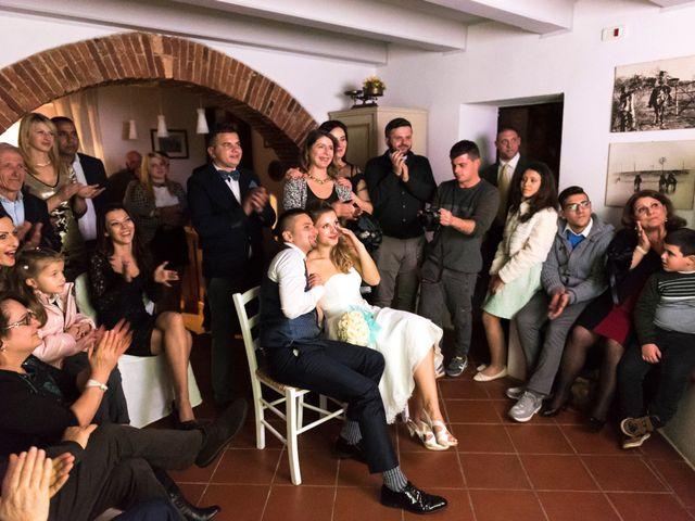 Il matrimonio di Fabio e Irina a Campagnatico, Grosseto 23