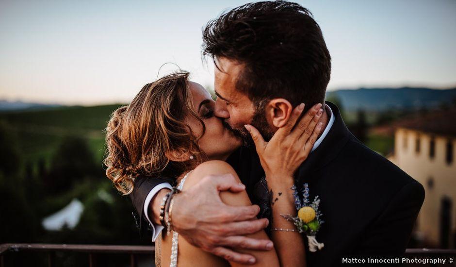 Il matrimonio di Gianni e Elisa a Vinci, Firenze