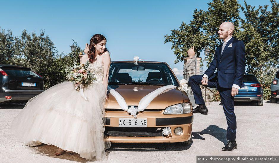 Il matrimonio di Monica e Michele a Todi, Perugia