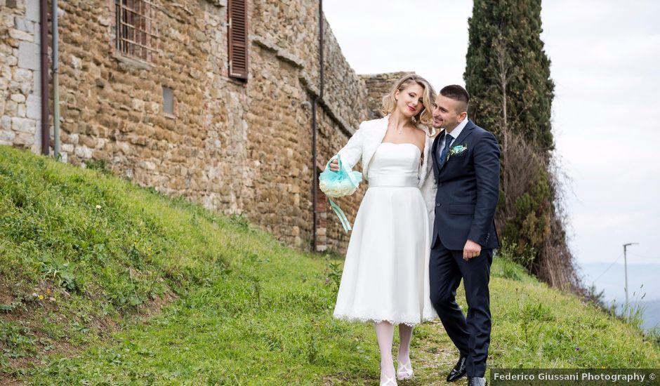 Il matrimonio di Fabio e Irina a Campagnatico, Grosseto