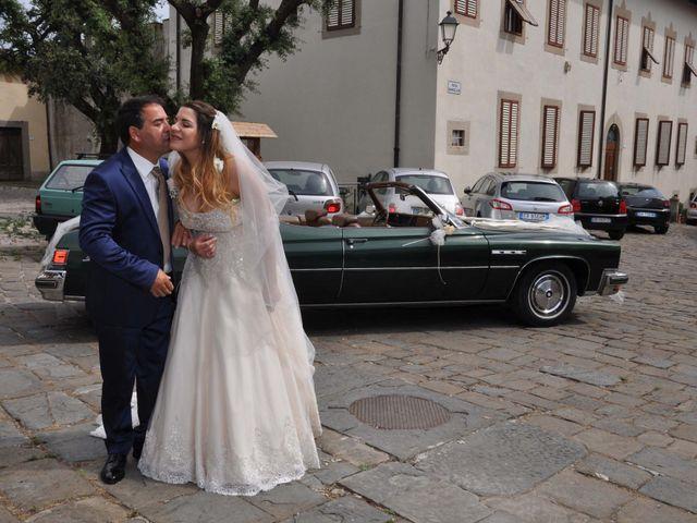 Il matrimonio di Massimo e Linda a Monsummano Terme, Pistoia 30