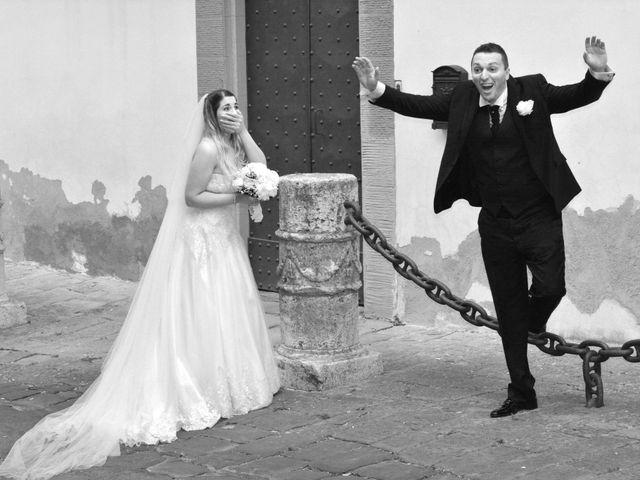 Il matrimonio di Massimo e Linda a Monsummano Terme, Pistoia 71