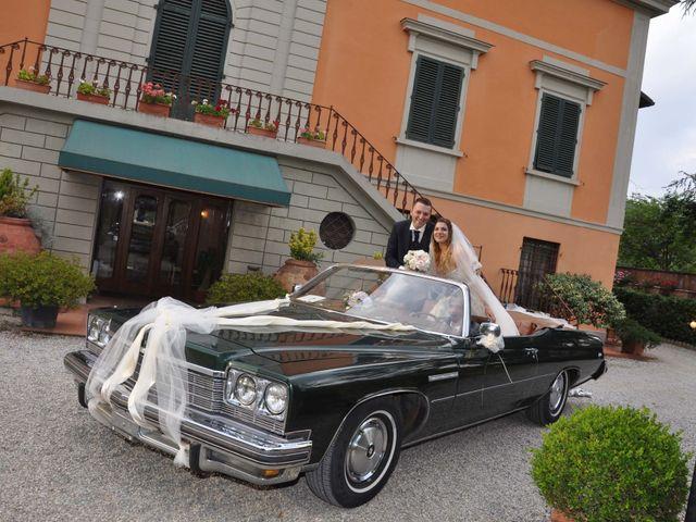 Il matrimonio di Massimo e Linda a Monsummano Terme, Pistoia 84