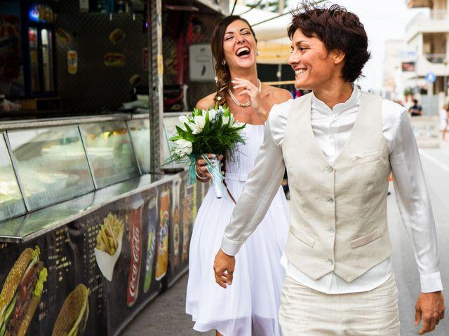 Le nozze di Roberta e Alessia