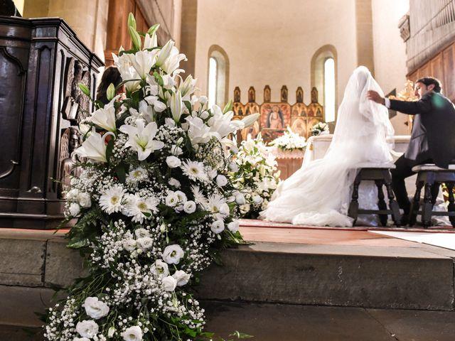 Il matrimonio di Francesco e Francesca a Sansepolcro, Arezzo 31
