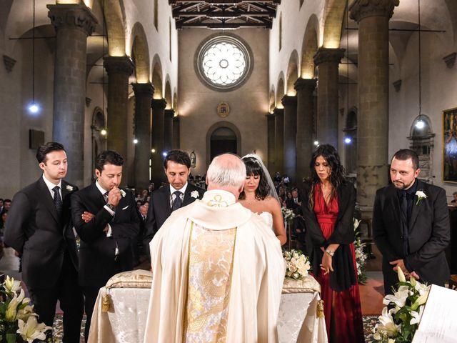 Il matrimonio di Francesco e Francesca a Sansepolcro, Arezzo 42
