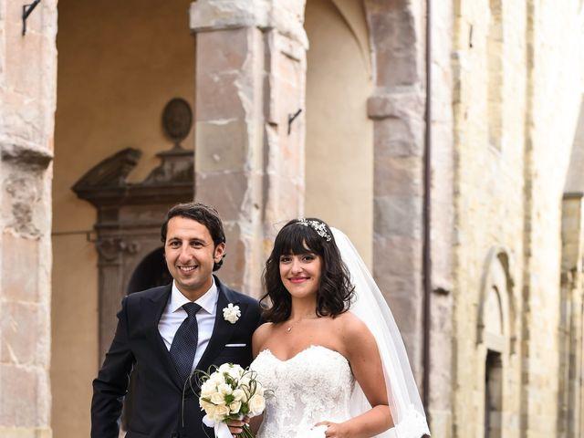 Il matrimonio di Francesco e Francesca a Sansepolcro, Arezzo 48